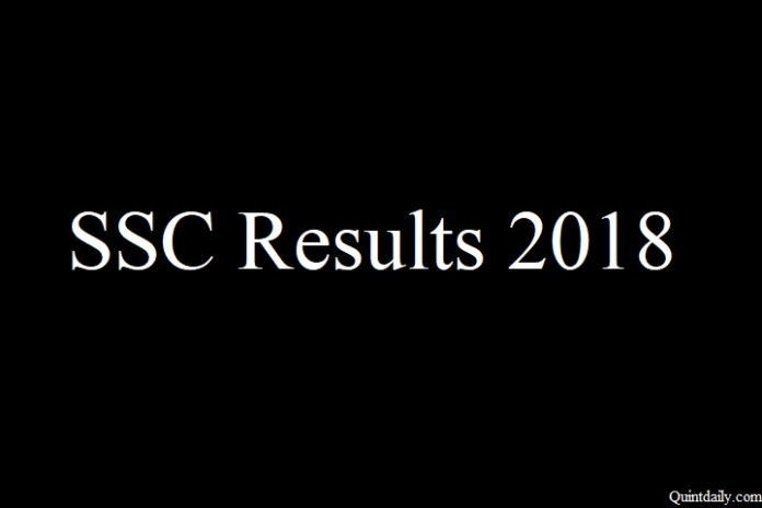SSC Results 2018