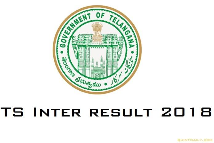 TS Inter Result 2018