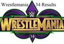 WWE Wrestlemania 34 Results