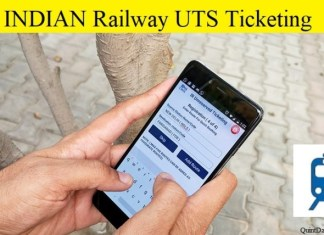 Indian Railway UTS App