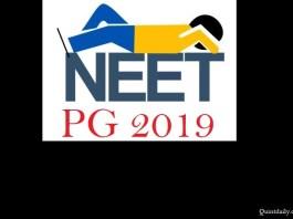 NEET PG 2019