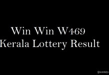 Win Win W469 Kerala Lottery Result 16.7.2018 Live Today