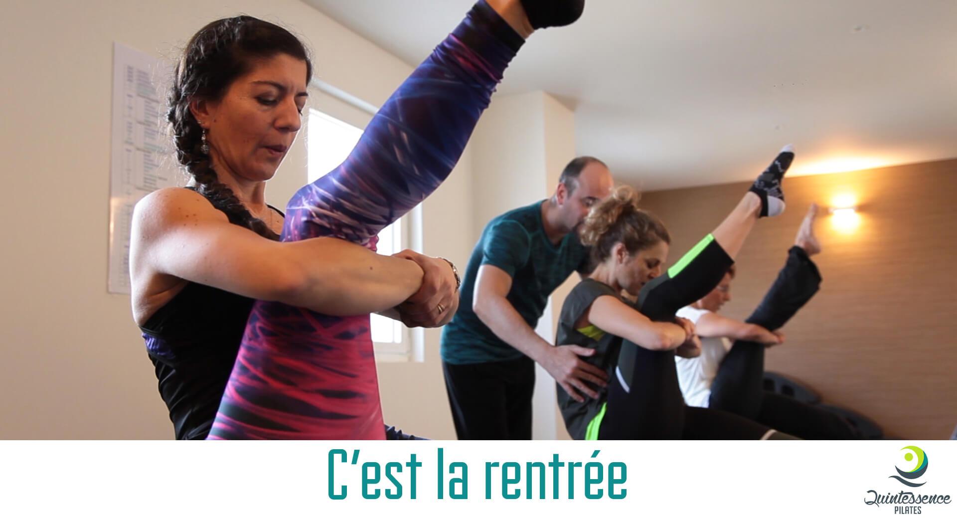 Quintessence Pilates Rentrée 2019