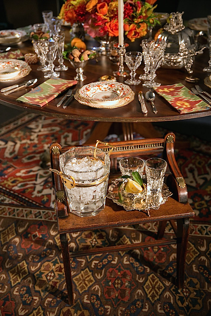 Setting A Holiday Table With Christie S Quintessence
