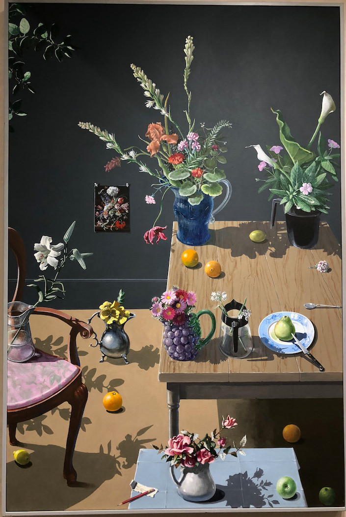 Paul Wonner at Hirchl & Adler Modern at the 2018 Winter Antiques Show