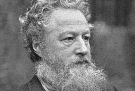 William Morris (1834-1896) var under sin livstid mest känd som poet, medan han levt vidare tack vare sin mönster på tapeter och textilier.