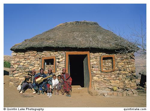Basotho Hut Lesotho  Geometry  Silence