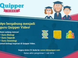 Quipper Video Mencari Guru yang Seru dan Menginspirasi
