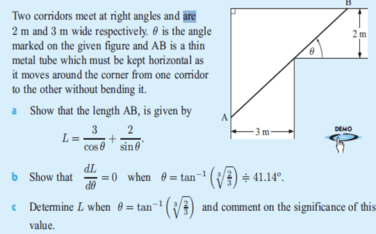 Belajar Matematika Peminatan Materi Koridor dan Benda Panjang dan Perbandingan dua Segitiga 1