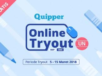 Mantapkan Persiapan UNBK dengan Ikutan Quipper Online Tryout UN