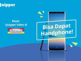 Bayar Quipper Video di Indomaret dan Menangkan Samsung Galaxy Note 8!