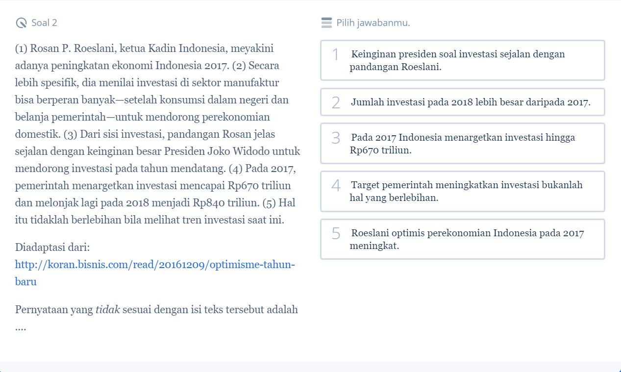 Pelajari 5 Contoh Soal SBMPTN Bahasa Indonesia dan Pembahasannya Biar Kamu Siap Hadapi SBMPTN 2018