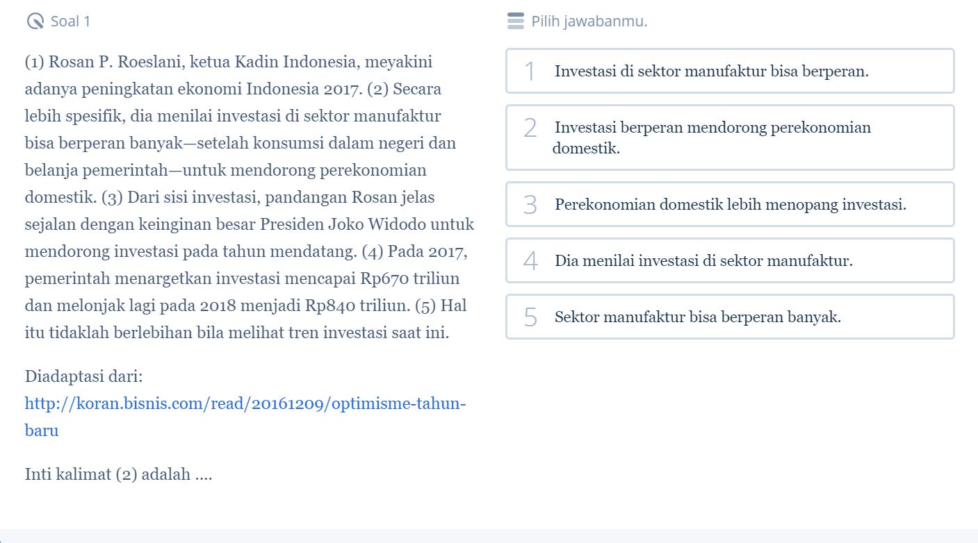 Pelajari 5 Contoh Soal SBMPTN Bahasa Indonesia dan Pembahasannya Biar Kamu Siap Hadapi SBMPTN 2018 1