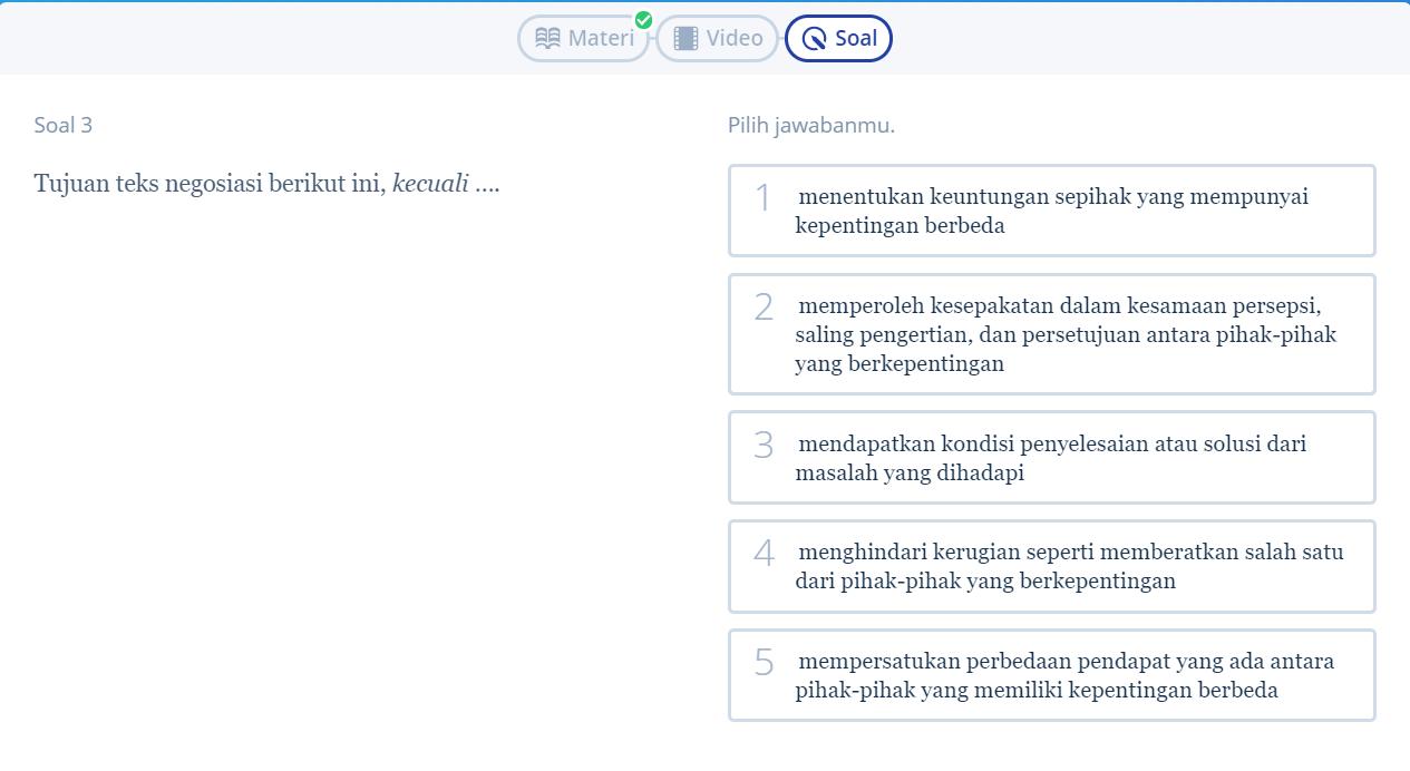 Yuk Simak 5 Contoh Soal Teks Negosiasi Ini Biar Bahasa Indonesiamu Kian Jago