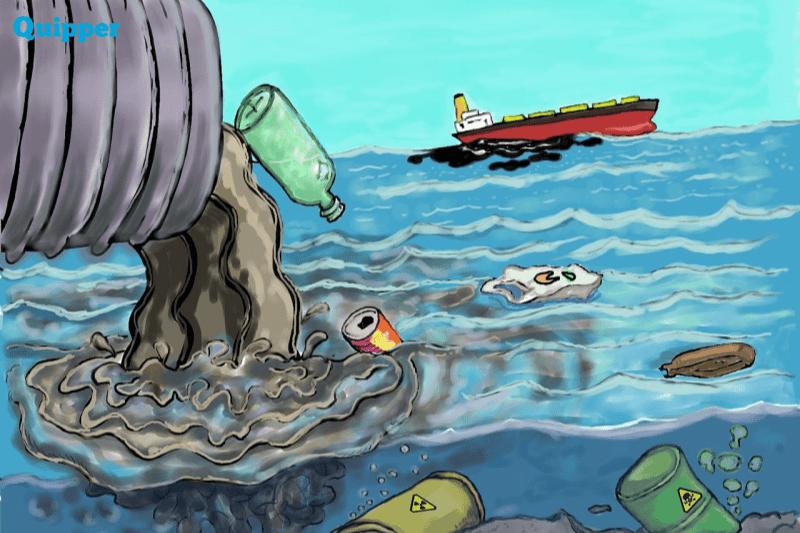 61+ Gambar Pencemaran Air Paling Keren