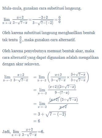 Contoh Soal Limit Fungsi : contoh, limit, fungsi, Limit, Fungsi, Aljabar, Matematika, Kelas, Quipper