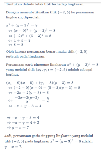 Contoh Soal Lingkaran Kelas 11 : contoh, lingkaran, kelas, Contoh, Matematika, Lingkaran, Kelas, Berbagi