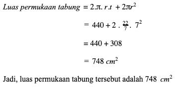 Tabung - Matematika - Definisi, Rumus Umum, dan Contoh ...