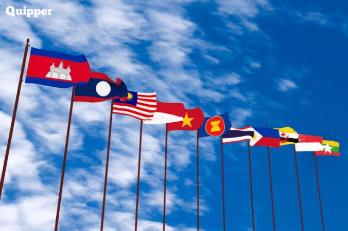 Negara Asean Sejarah Anggota Lambang Quipper Blog