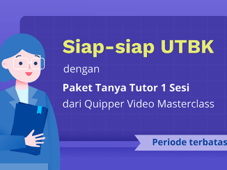 quipper video masterclass 1 sesi