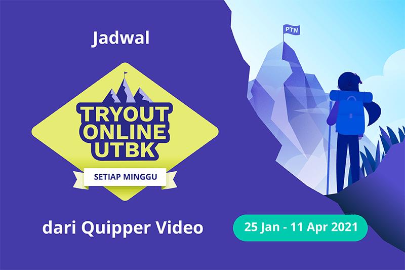 jadwal Tryout Online UTBK SBMPTN 2021