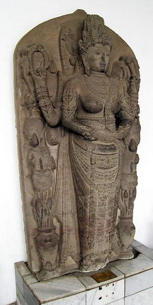Arca dewi Parwati, perwujudan ratu Majapahit ibunda Hayam Wuruk
