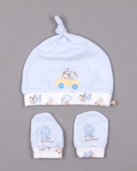 set-de-gorro-y-manoplas-marca-disney-de-color-azul