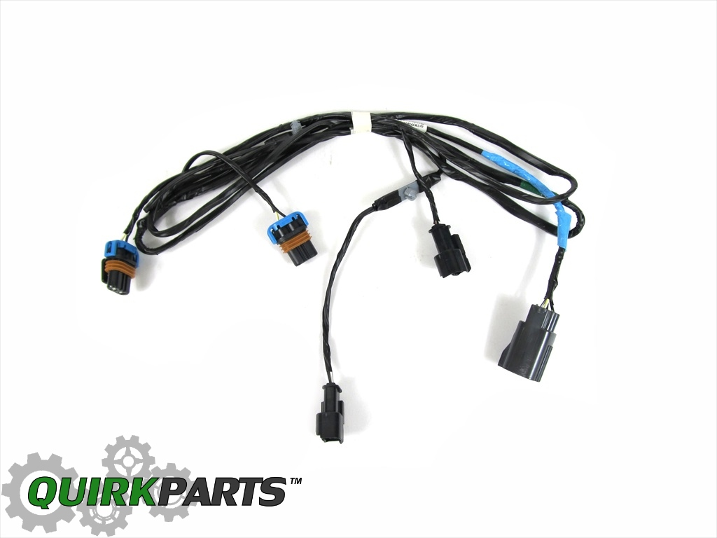 05 10 Chrysler 300 Front Fog Light Lamp Wiring Harness Oem New Mopar Ab