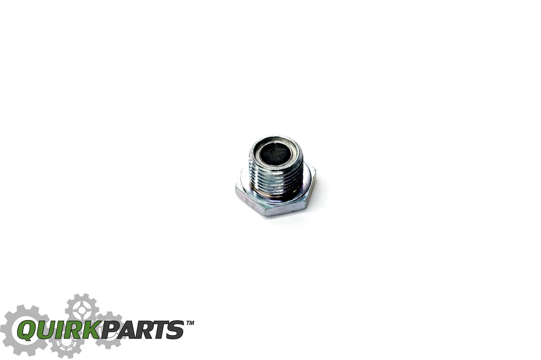 Mazda Miata CX-7 CX-9 MPV Oil Drain Plug With Magnet OEM