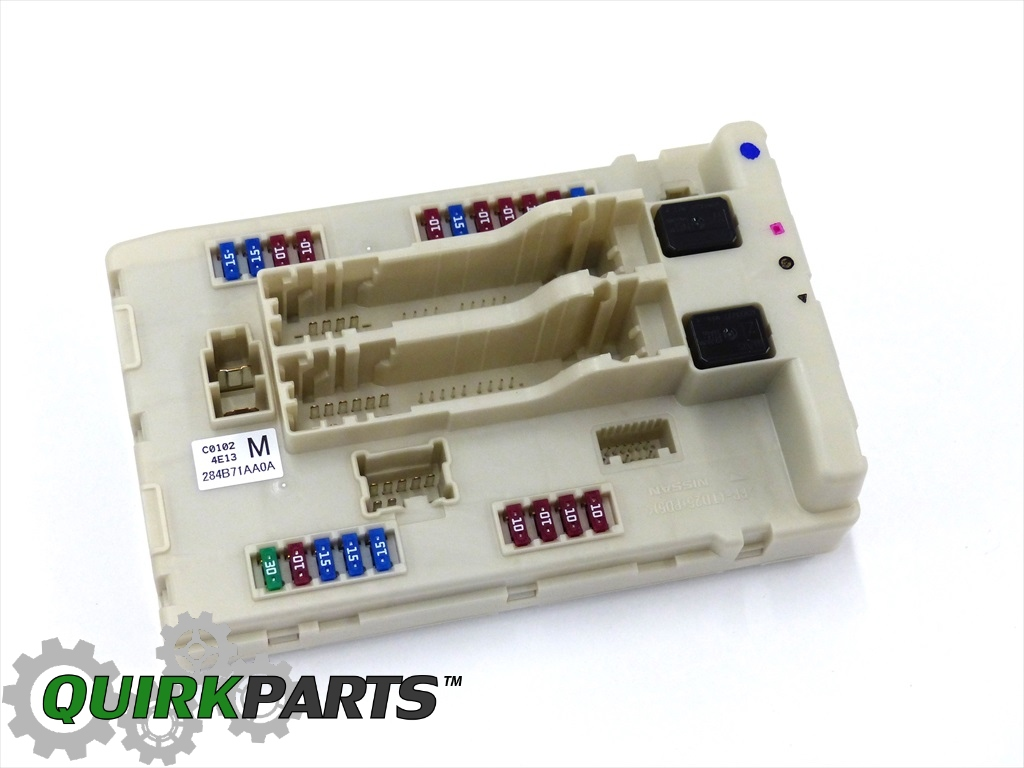 hight resolution of 284b71aa0a 1 2008 2010 nissan altima murano maxima ipdm bcm engine control unit 2009 2009 nissan murano fuse box
