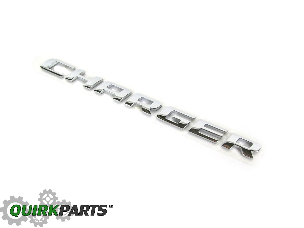 2006-2009 Dodge Charger Emblem Decal Replacement GENUINE