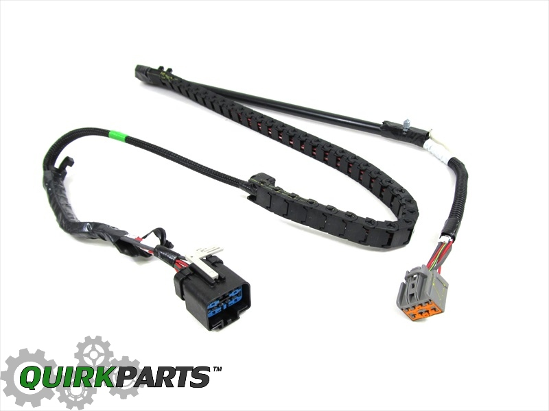 dodge door wiring harness