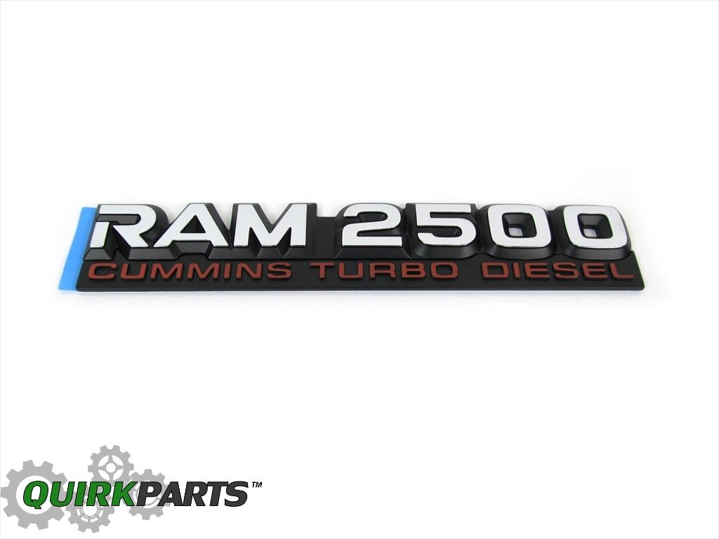 1994-1998 Dodge Ram 2500 Cummins Turbo Diesel EMBLEM