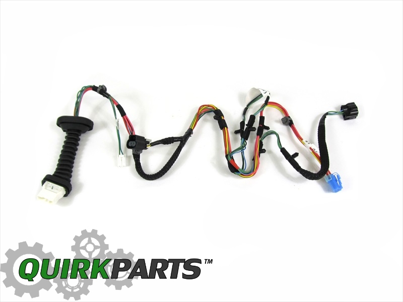 2006-2009 DODGE RAM 2500 3500 MEGA CAB REAR DOOR WIRING