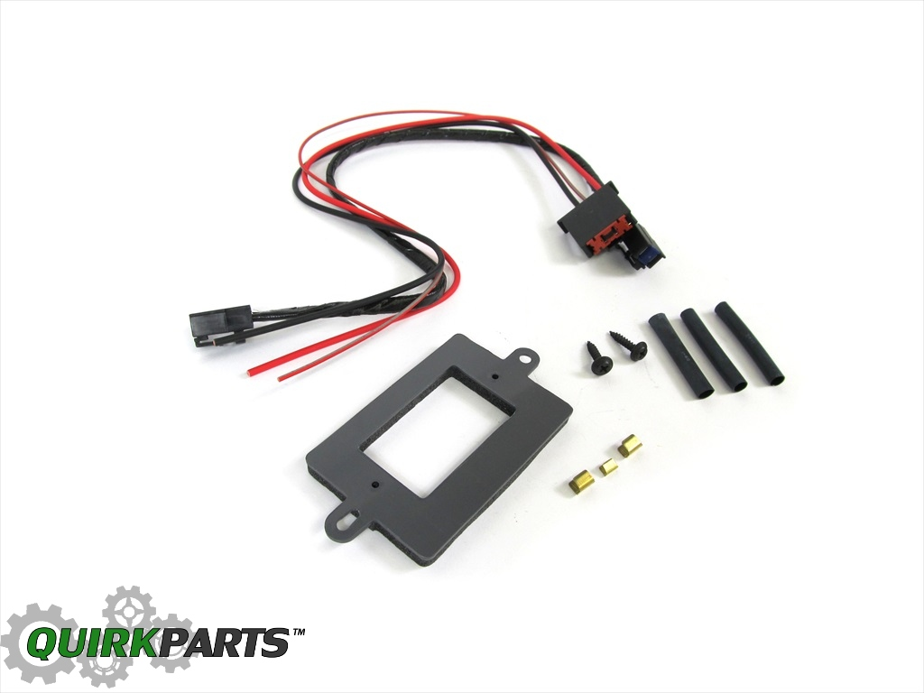 hight resolution of parts accessories 99 04 jeep grand cherokee blower motor wiring connector genuine mopar 68052436aa other parts