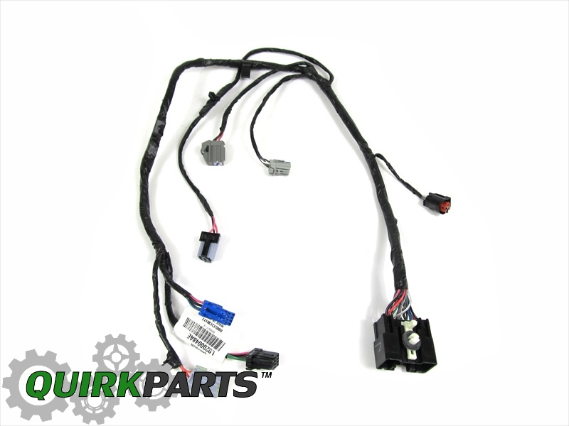 2011 Dodge Charger Wire Harness, 2011, Get Free Image