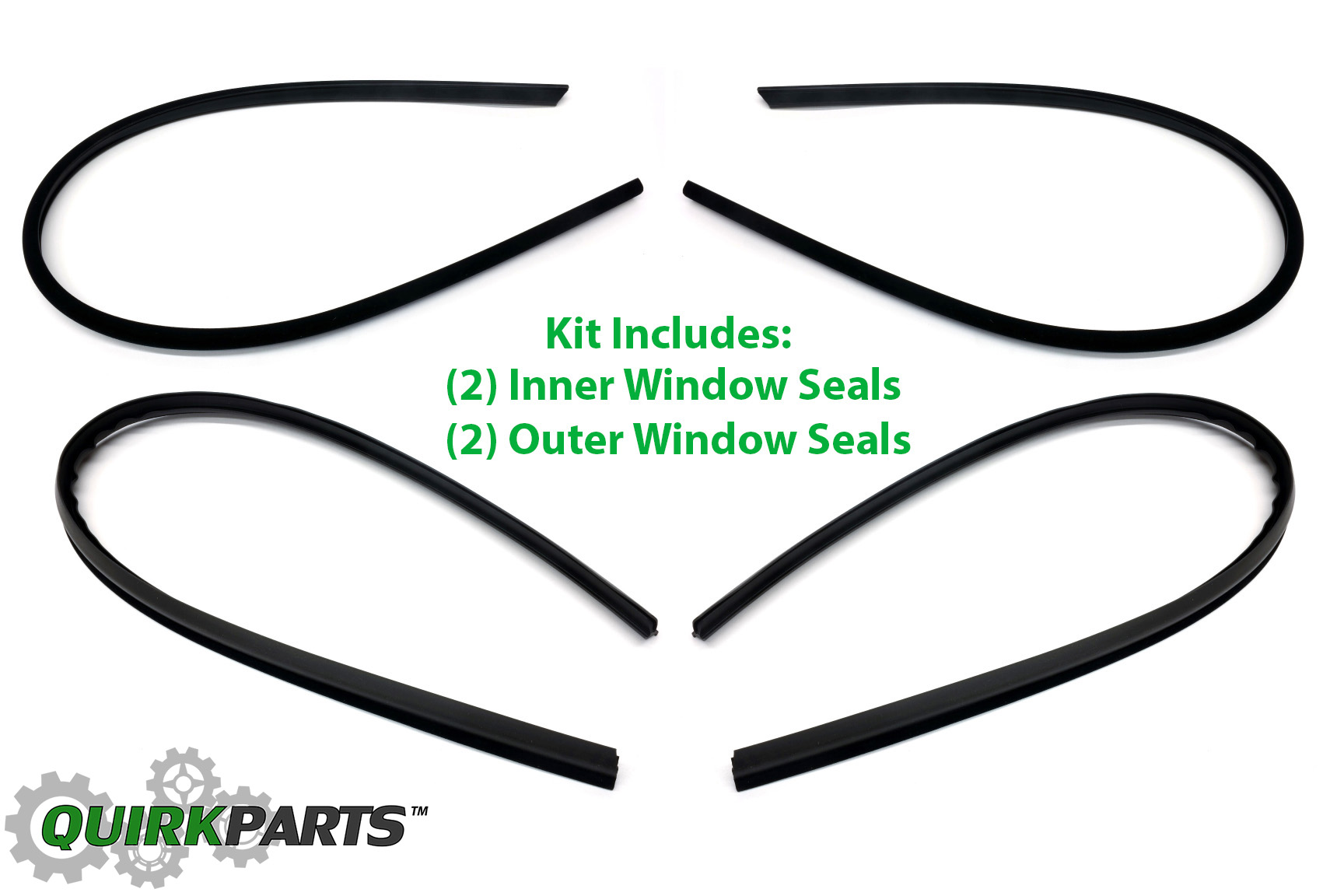 1979-1985 Mazda RX-7 Inner & Outer Door Window Glass
