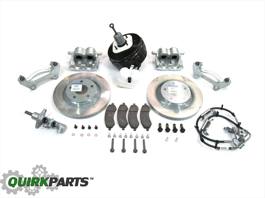 2007-2015 JEEP WRANGLER PREMIUM BIG BRAKE KIT FOR FRONT