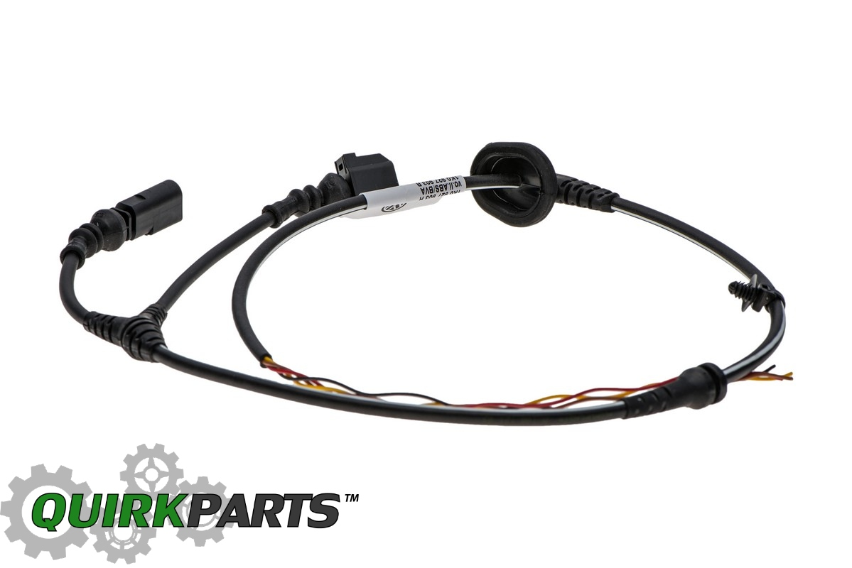 Vw Volkswagen Left Front Abs Harness W Brake Pad Wear