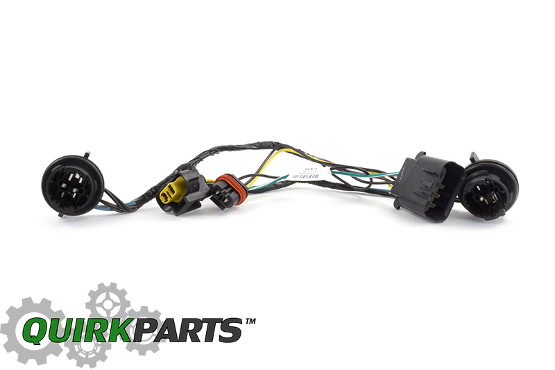 OEM NEW Head Light Socket Wiring Harness Front Right or