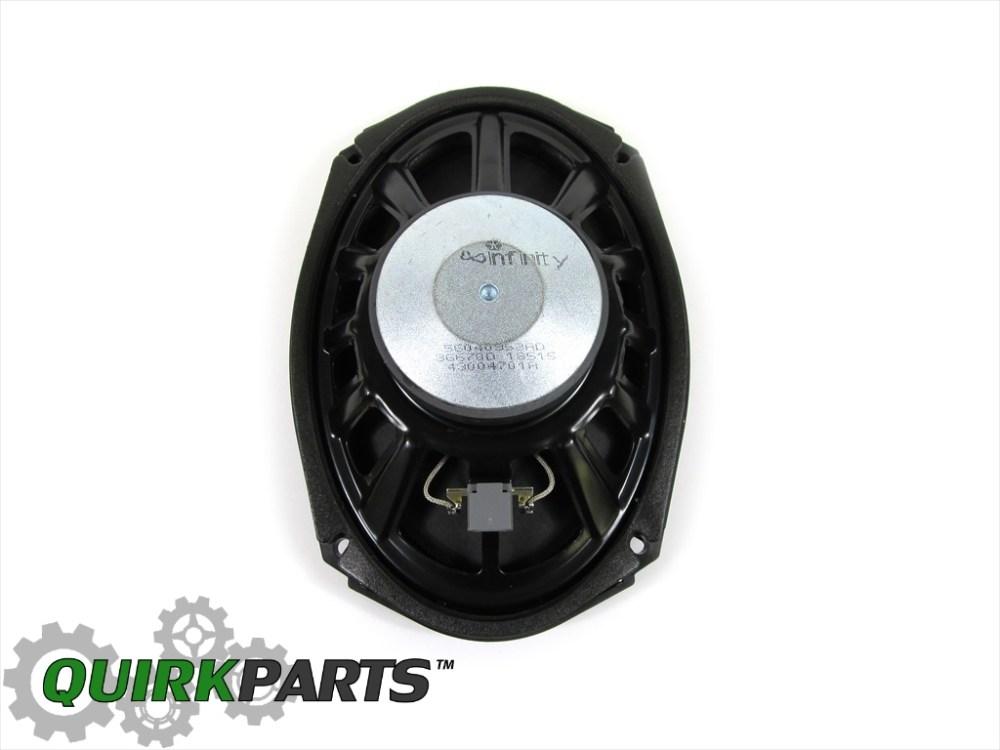 medium resolution of details about 04 08 dodge ram 1500 05 09 2500 06 09 3500 front door speaker oem new mopar