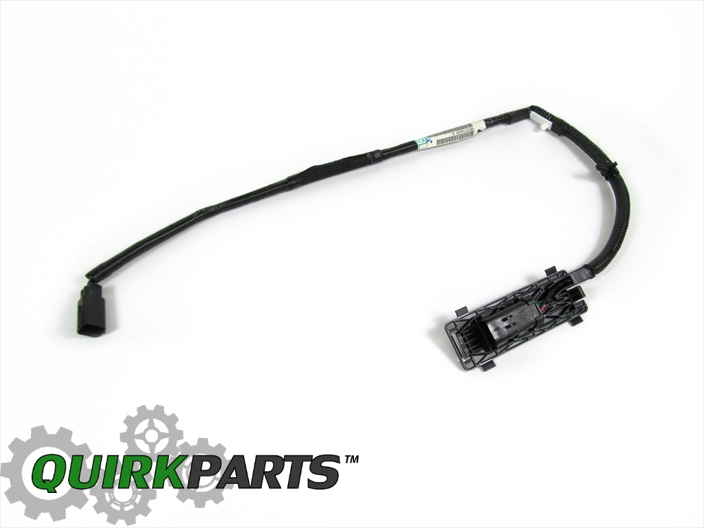 DODGE RAM 1500 2500 3500 REAR VIEW CAMERA JUMPER WIRING