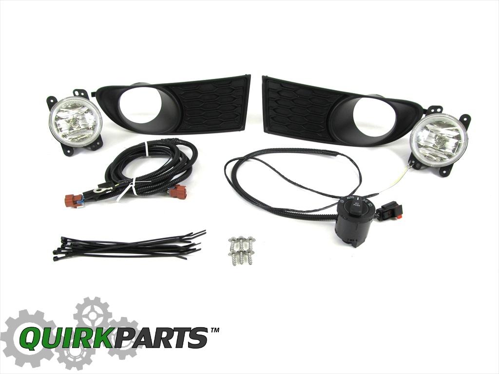 hight resolution of details about 12 15 dodge journey fog light lamp wiring kit w auto headlights genuine mopar