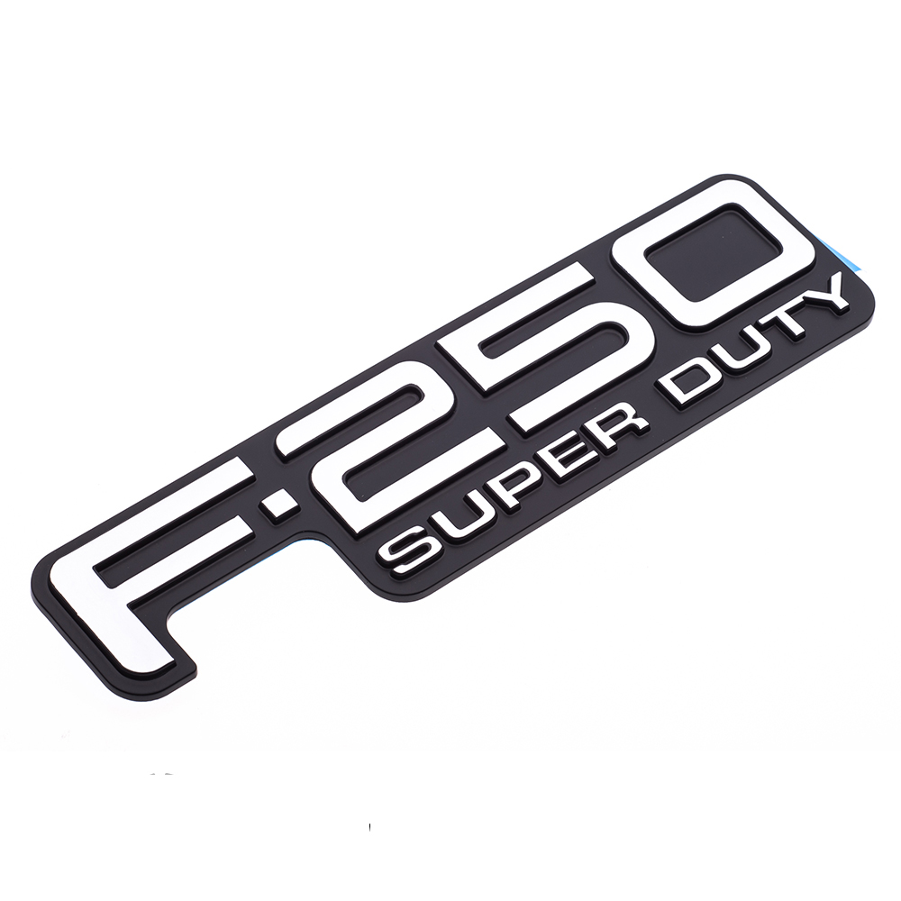 1999-2004 Ford F-250 Super Duty Tailgate Emblem Badge Self