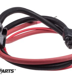 oem postive right amp left negative battery cables  [ 3000 x 2003 Pixel ]