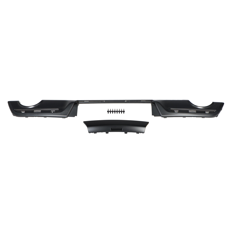 2016 Ford Explorer Rear Lower Bumper Fascia Carbon Black