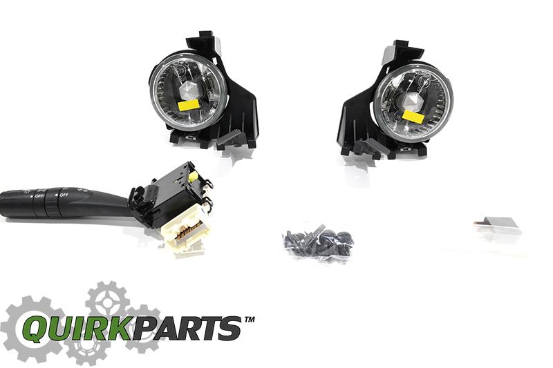 NEW 2008-2011 Subaru Fog Light Lamp Kit Impreza WRX STI