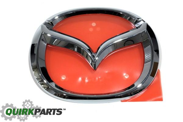 2016 Mazda Miata Mx-5 Front Grille Logo Emblem Badge Oem