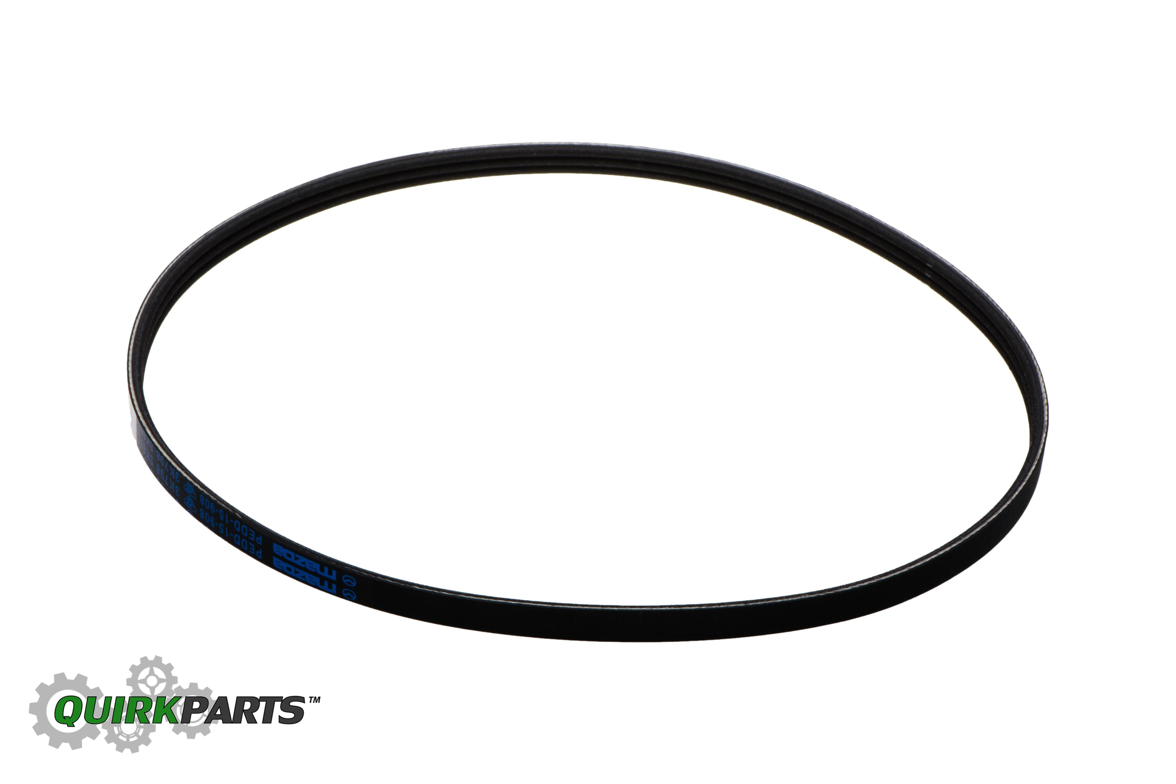 2012-2015 Mazda 3 CX-5 Serpentine Water Pump Belt OEM NEW