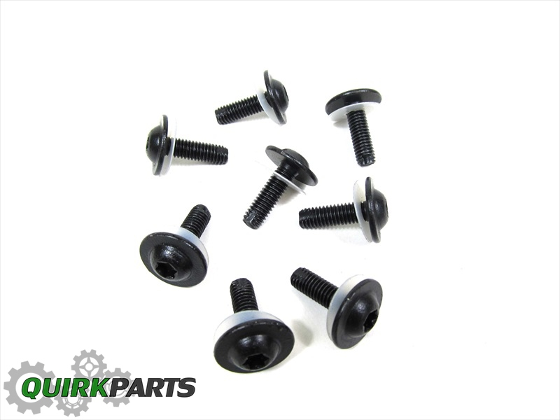 Dodge Ram 1500 2500 3500 TAIL GATE COVER BOLTS SET OF 8
